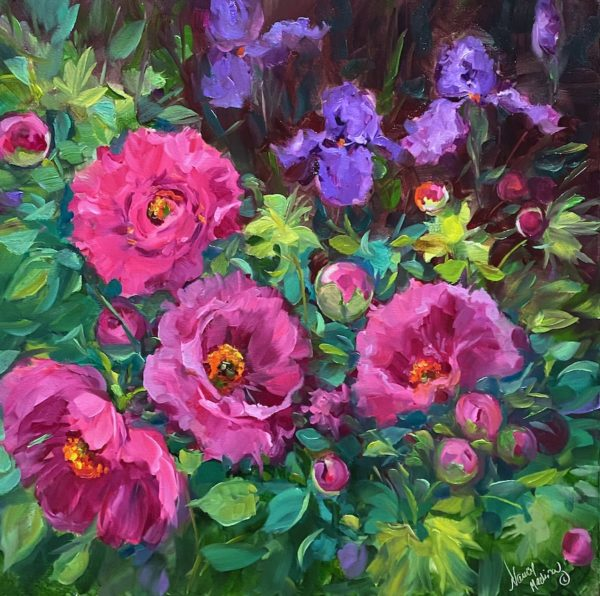 Pink Bubble Peonies