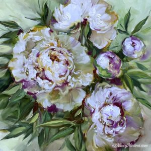 Take Flight White Peonies