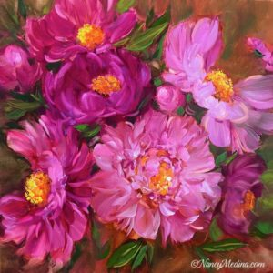 Dancing Queen Pink Peonies
