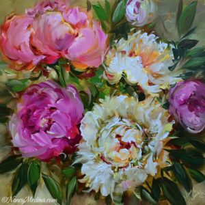 Sweet Home Peonies 16X16
