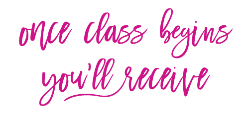 once-class-begins