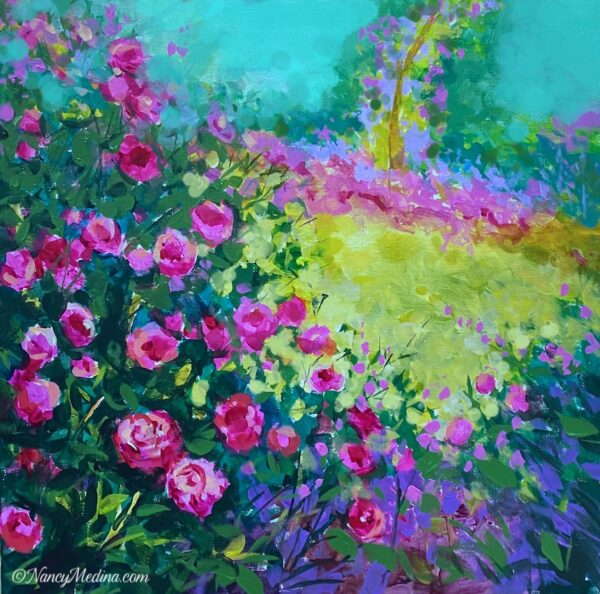 Promised you a rose garden 14X14