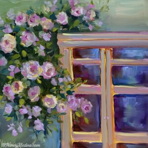 Evening Light Window 12X12