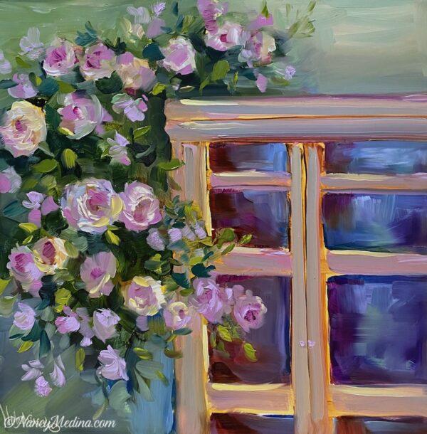 Evening Light Window 12X12