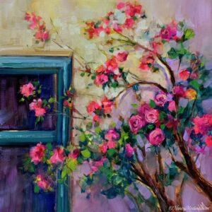 Santa Fe Rose Peepers 14X14