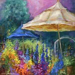 French Market Umbrellas 16X16 tjb