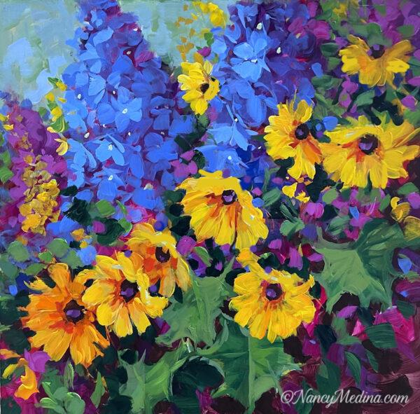 Joyful Heart Daisy Garden 16X16