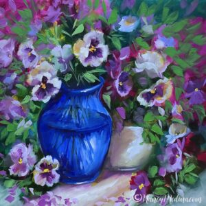 TJB Patio Party Pansies 16X16