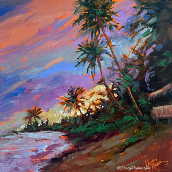 TJB live perks Tropical Sunset 12X12