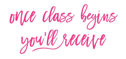 once-class-begins