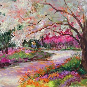 Cherry Blossom Path 16X16