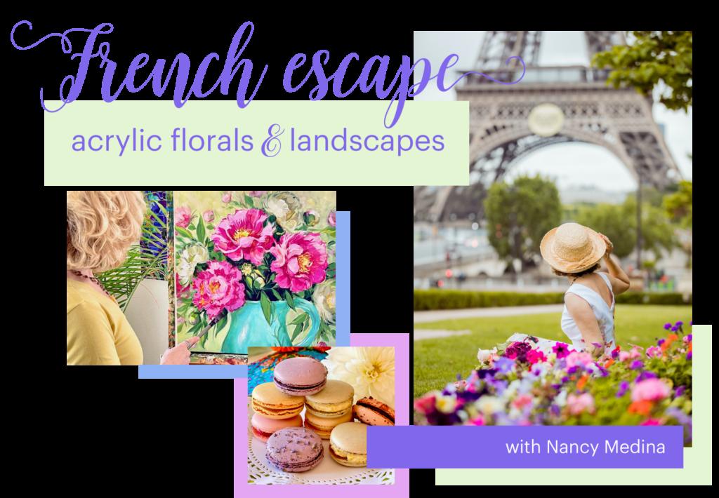 french escape blog banner